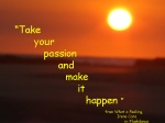 makeyourpassion happen