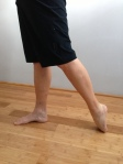 Toe/foot/ankle/anterior leg stretch